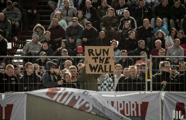 Danmarks Hurtigste Bil - Run the wall