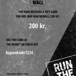 gift card from run the wall